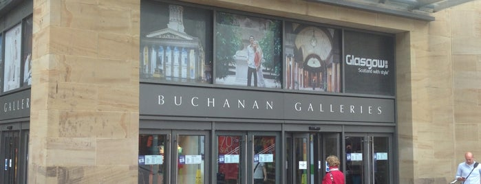 Buchanan Galleries is one of Lieux qui ont plu à 9aq3obeya.