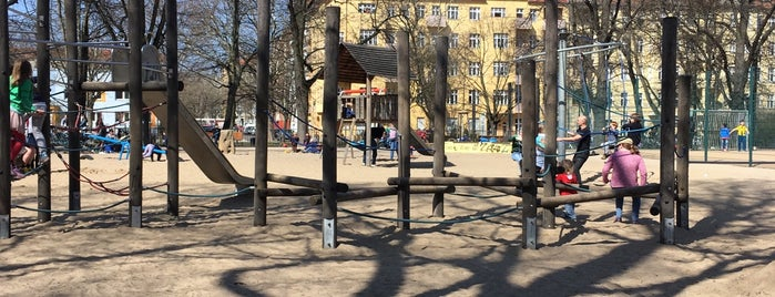 Spielplatz am Humannplatz is one of Playgrounds in Berlin.