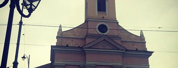 Базиліка Воздвиження Всечесного Хреста is one of Культові споруди Чернівців.