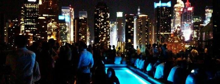 Ink48 Hotel Roof Bar is one of Rooftop Bars with Drinks to get Drunk in NYC.