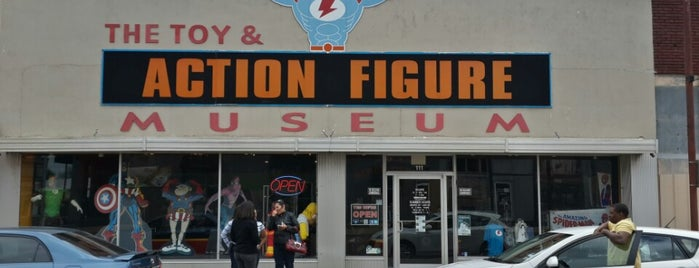 Toy & Action Figure Museum is one of OKC Faves.