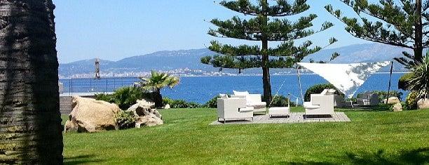 Hotel Sofitel Golfe d'Ajaccio Thalassa Sea & Spa is one of Hotspots Wifi Orange - Vacances.