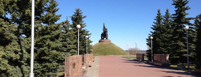 """Мемориальный парк """"Победа"""" is one of Alexander 님이 좋아한 장소."""