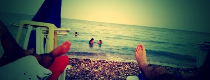 The Antalya Beach is one of Aylin'in Kaydettiği Mekanlar.