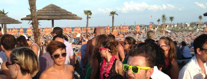 Papeete Beach is one of romagna nightlife.