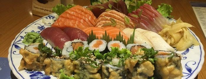 Mai Sushi is one of Tempat yang Disukai Gianpaulo.
