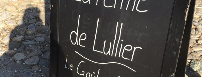 La Ferme de Lullier is one of GVA.