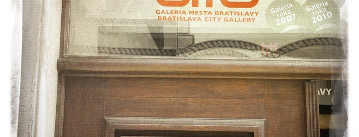 Galéria mesta Bratislavy - Pálffyho palác is one of Art museums / galleries.