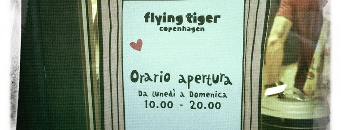 Flying Tiger is one of Ferrara x.