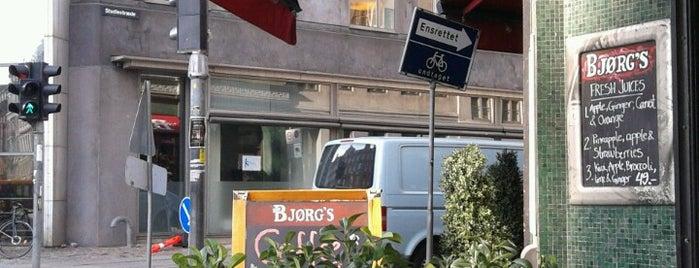 Café Bjørg's is one of Food.