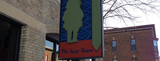 The Happy Gnome is one of America's 100 Best Beer Bars - Draft Magazine 2014.
