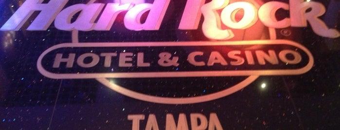 Seminole Hard Rock Hotel & Casino - Tampa Pool Bar is one of Lugares favoritos de Amanda.
