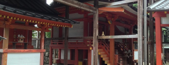 御霊神社(中之町) is one of 御霊伝承.