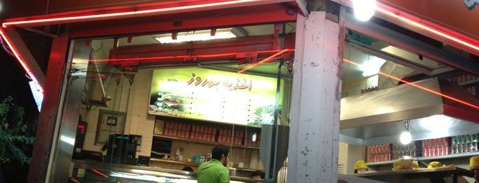 Behrouz Sandwich | اغذیه بهروز is one of Posti salvati di Reza.