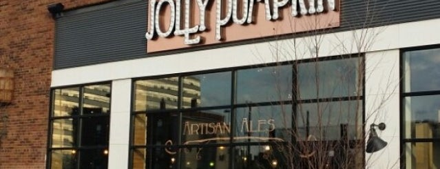 Jolly Pumpkin Pizzeria and Brewery is one of Where in the World (to Dine, Part 4).