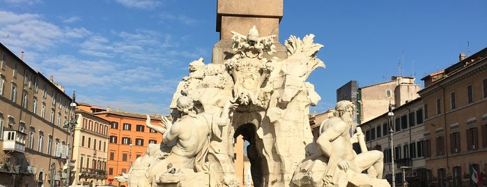 Piazza Navona is one of Go Ahead, Be A Tourist.