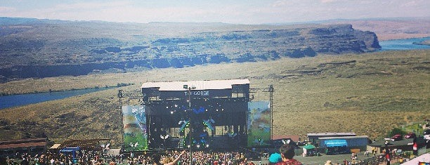 The Gorge Amphitheatre is one of Seattle Badge Quests.