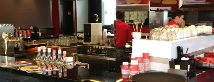 Red. Espresso Bar is one of Moscow: Best Cafes&Restaurants.