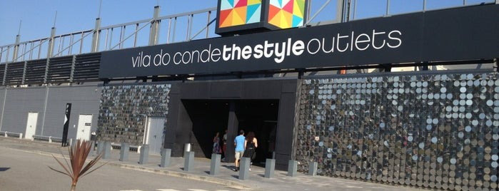 Vila do Conde Porto Fashion Outlet is one of Outlets Europe.