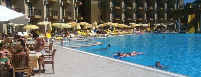 Victory Resort Hotel is one of Tempat yang Disukai Hakan.