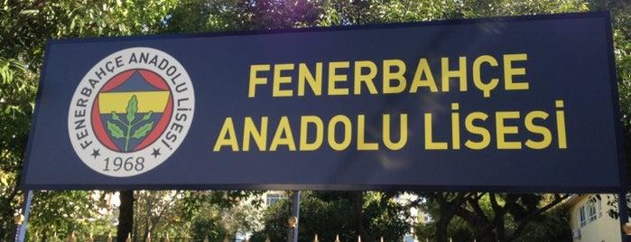 Fenerbahçe Anadolu Lisesi is one of TOP 20.