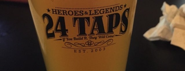 24 Taps Bar is one of places I want to go.