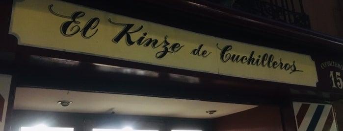 Peluquería El Kinze is one of lugares madrid.