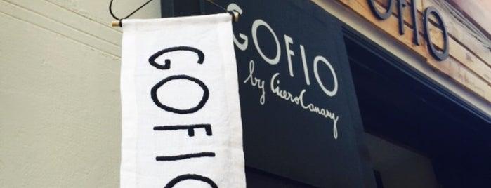 Gofio by Cicero Canary is one of De perdidos por Madrid.