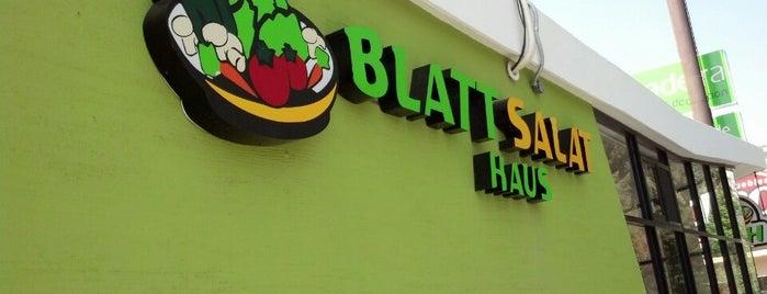 Blatt Salat Haus is one of Tempat yang Disukai Andre.
