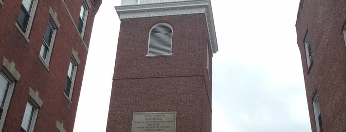 The Old North Church is one of Boston: Fun + Recreation.