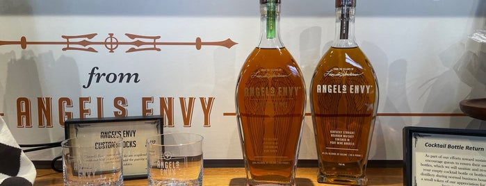 Angel's Envy Distillery is one of Louisville.