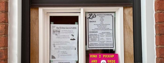 Lil's Bagels is one of Cincinnati.