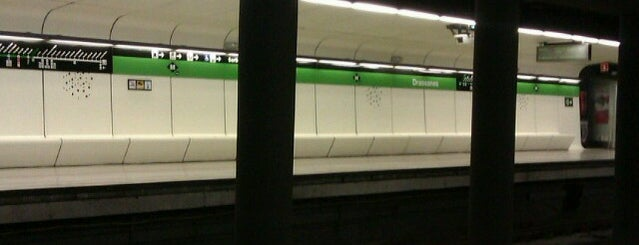 METRO Drassanes is one of Barcelona.