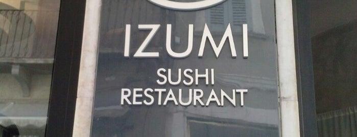 Izumi is one of Mangiare.