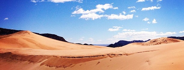 Coral Pink Sand Dunes State Park is one of U.S. trip.