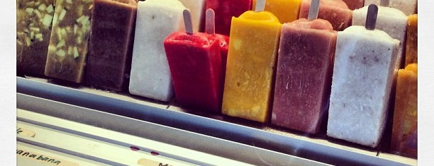 Mateo's Ice Cream & Fruit Bars is one of Mom and Dad in LA.