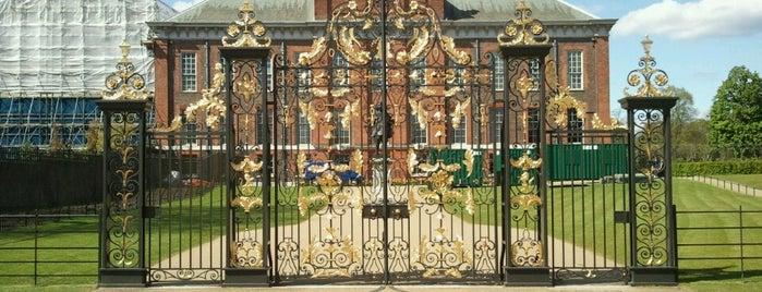 Kensington Palace is one of London Favorites.