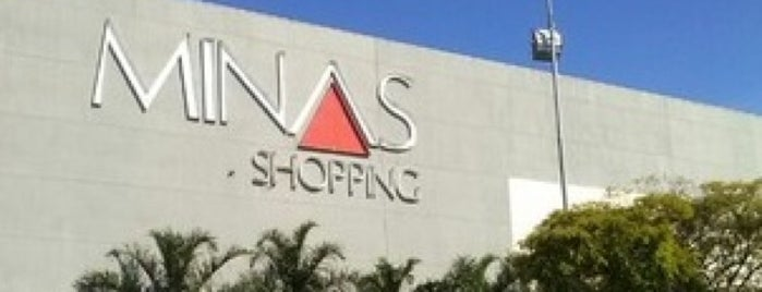 Minas Shopping is one of shopping center.