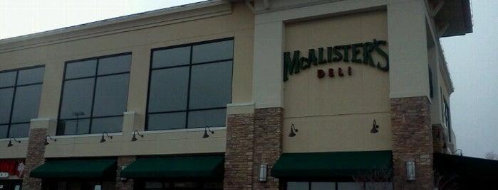 McAlister's Deli is one of Tempat yang Disukai Jonathan.