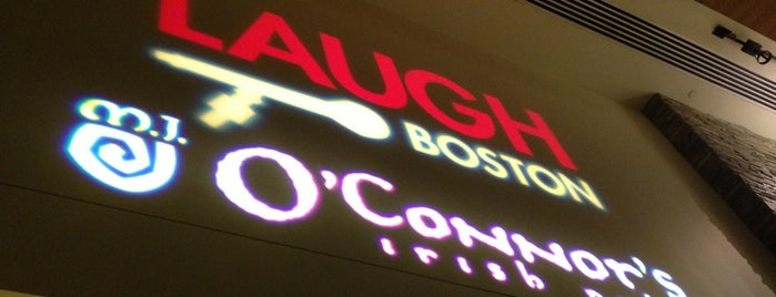 Laugh Boston is one of Boston.