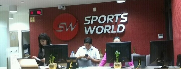 Sports World is one of CDMX deporte.