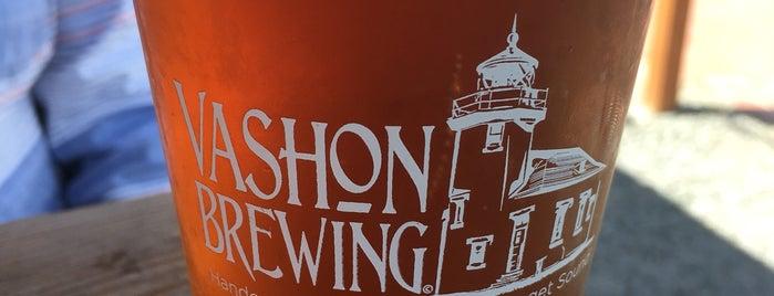 Vashon Brewing Community Pub is one of Orte, die John gefallen.