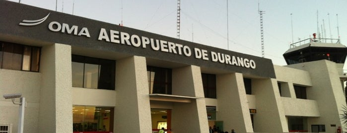 Aeropuerto Internacional Gral. Guadalupe Victoria (DGO) is one of สถานที่ที่ Manolo ถูกใจ.