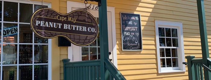 Cape May Peanut Butter Company is one of Lieux sauvegardés par Lizzie.