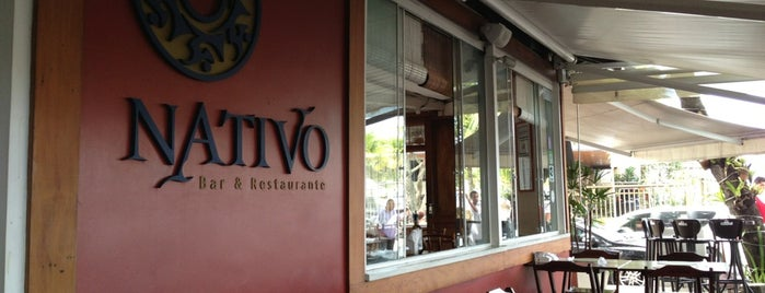 Nativo Bar e Restaurante is one of Melhores Restaurantes e Bares do RJ.