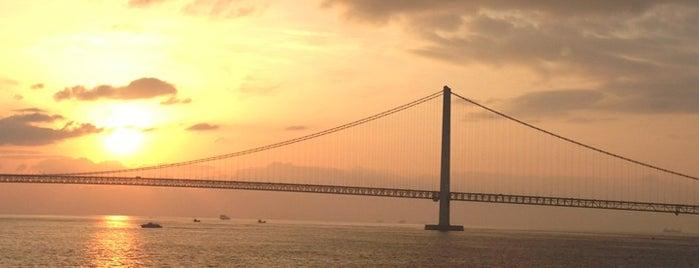 大阪湾 須磨沖 is one of สถานที่ที่ Shigeo ถูกใจ.