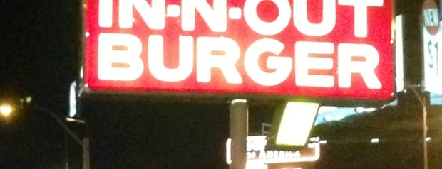 In-N-Out Burger is one of Las Vegas's Best Burgers - 2013.