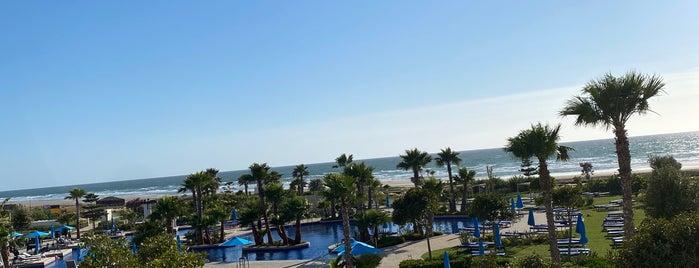 Hilton Tangier Al Houara Spa & Resort is one of Lieux qui ont plu à Soly.
