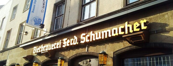 Brauerei Schumacher Stammhaus is one of Marathon2018-WKND.