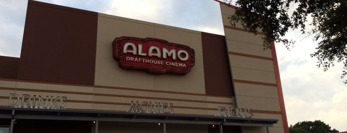 Alamo Drafthouse Cinema is one of dallas.